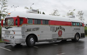 Jim Beam Greyhound Bus