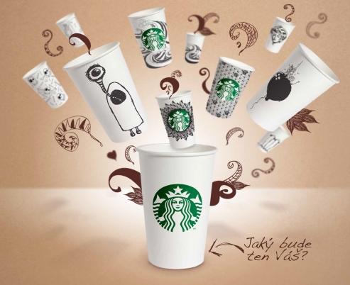 Starbucks cupart