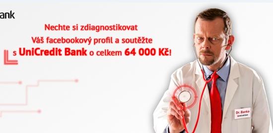 Ordinace doktora Banky - soutěžni aplikace na Facebooku