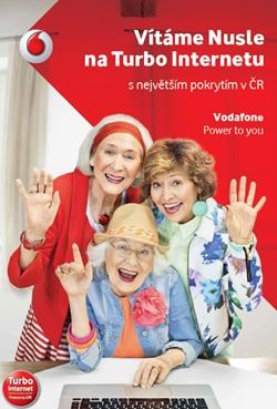Vodafone v nové kampani pokračuje s podporou Turbo Internetu