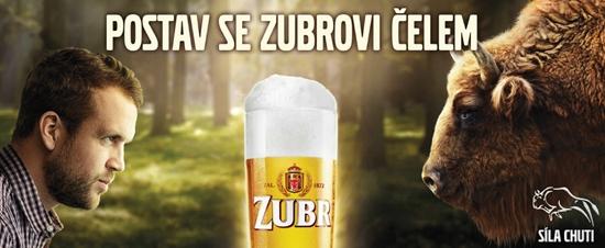 Pivovar Zubr s novou komunkační kampaní