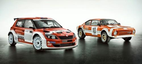 Škoda Fabia a Škoda 180 RS/200 RS