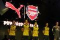 SINGAPORE - JULY 14:  of Arsenal at the launch of the new Arsenal away kit on July 14, 2015 in Singapore. (Photo by Stuart MacFarlane/Arsenal FC via Getty Images)