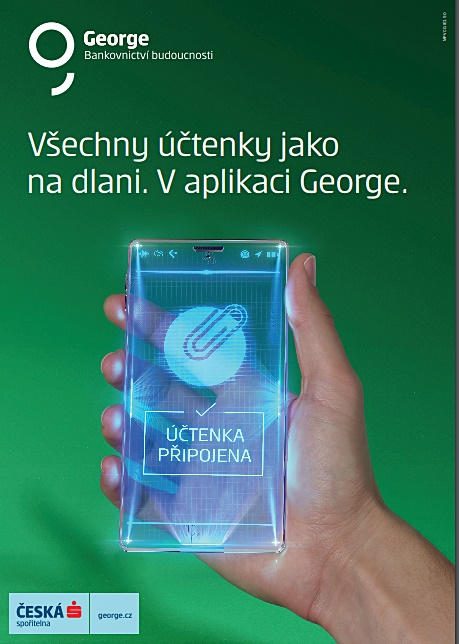 Kampan Na Bankovnictvi Budoucnosti George Ceske Sporitelny Pokracuje